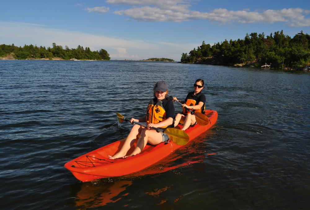 Vaguer objets à flotter - Projet Kayak évolutif par Max Fommeld et Arno Mathies