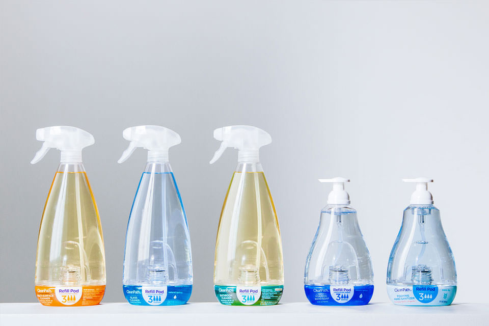 Replenish - Eco-Packaging & Produits d'entretien : Clean ways to clean