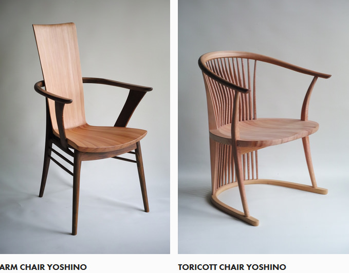 Tokunaga Furniture meuble au rabot