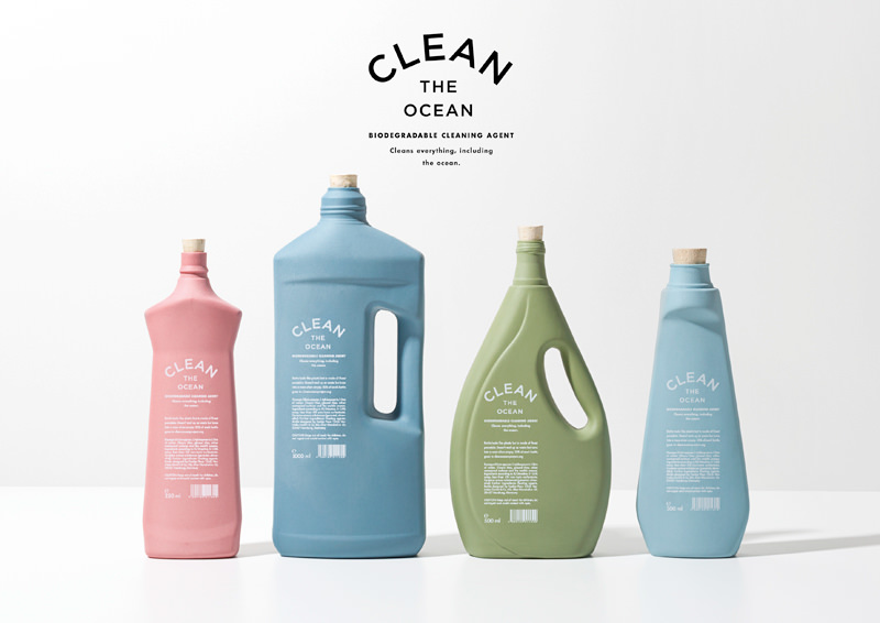 Clean the ocean - Eco-Packaging & Produits d'entretien : Clean ways to clean