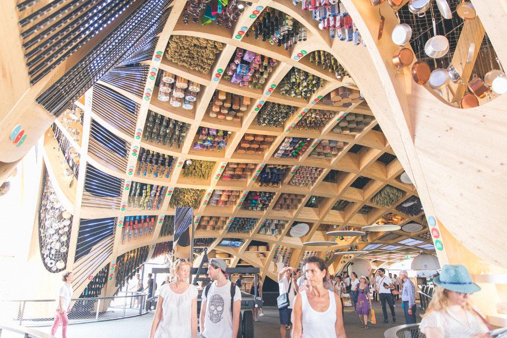 Pavillon français - Retour sur l'exposition universelle de Milan 2015