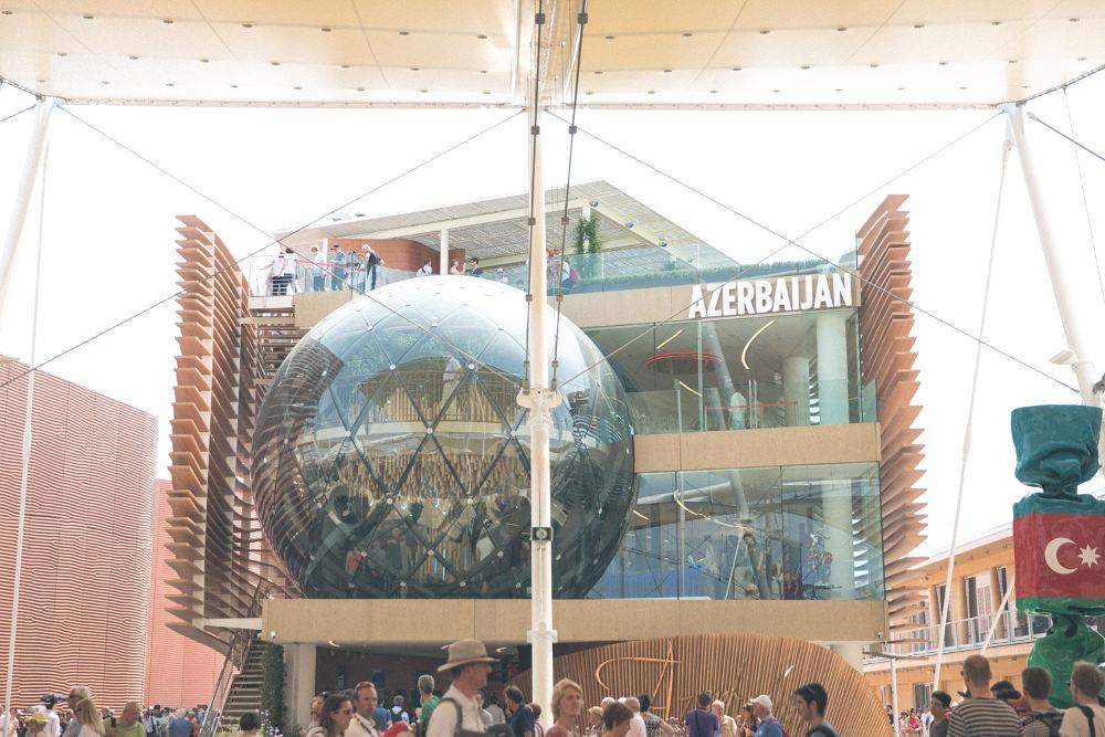 Pavilon Azerbaijan - Retour sur l'exposition universelle de Milan 2015