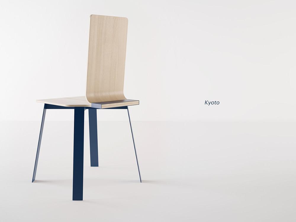 Chaise KYOTO par Dmitry Kozinenko