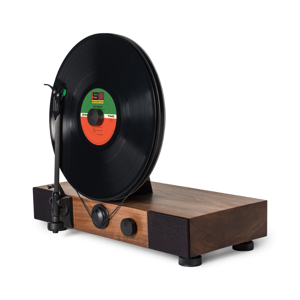 Floating record platine vinyle verticale par gramovox - Platine vinyle design ...