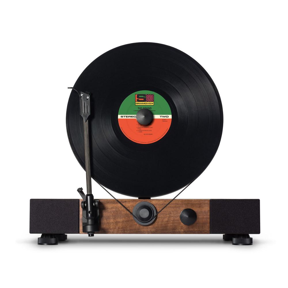 floating record platine vinyle verticale par gramovox. Black Bedroom Furniture Sets. Home Design Ideas
