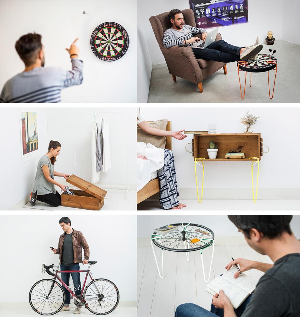 SNAP et tout devient mobilier par Be-elastic