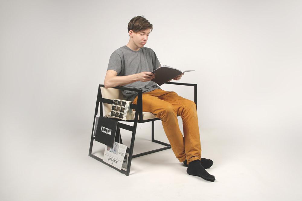 14 le fauteuil d'attente par Lukas Avenas