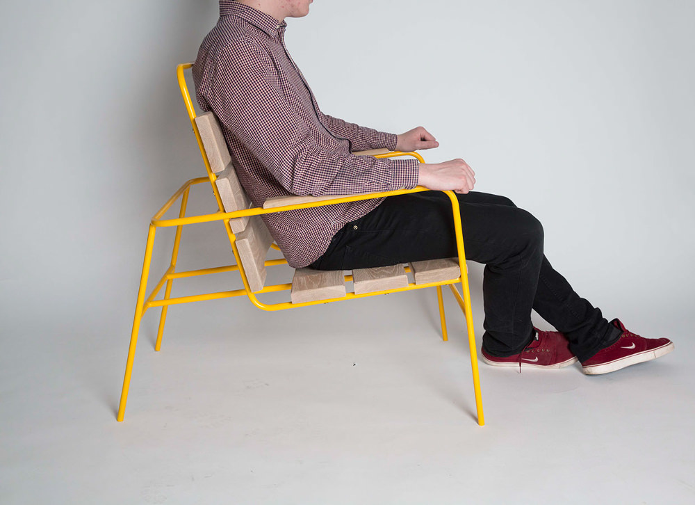 DANDE chair la chaise de jardin par Tim Hindle