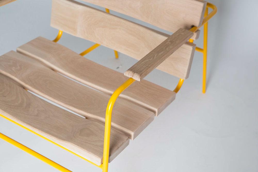 Dande chair la chaise de jardin par tim hindle for Design chaise 2015