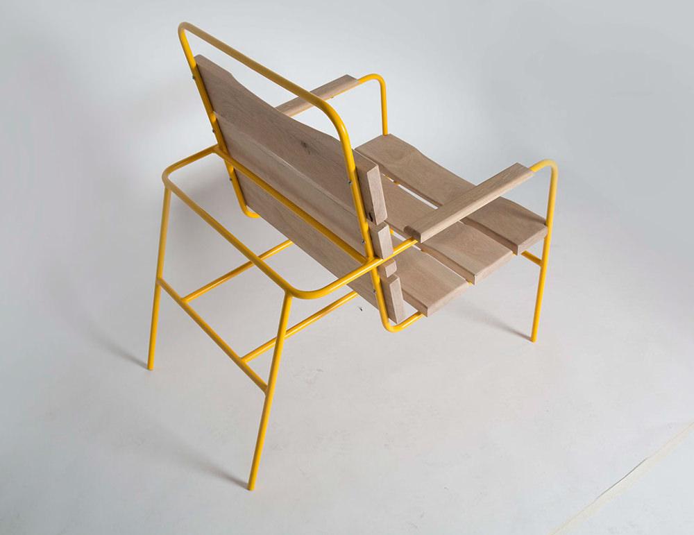 Dande chair la chaise de jardin par tim hindle - Chaise de jardin truffaut ...