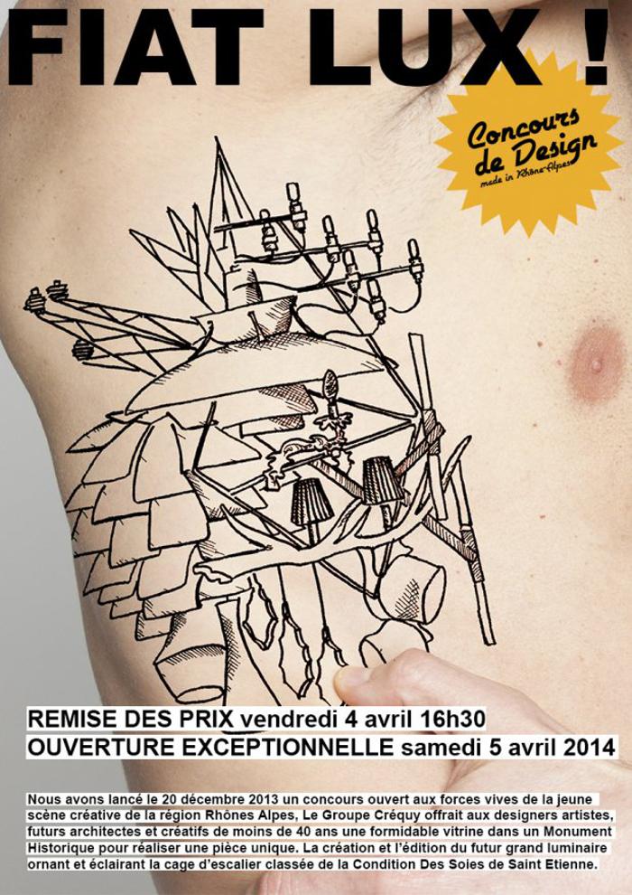 FIAT LUX! - NAPO+JEANNOT  - Affiche concours