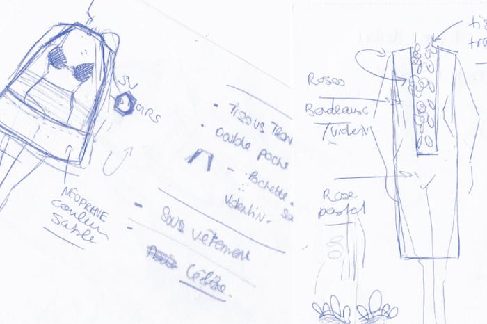 Croquis - Mode, Design et Transparence par Sabrina Lucas
