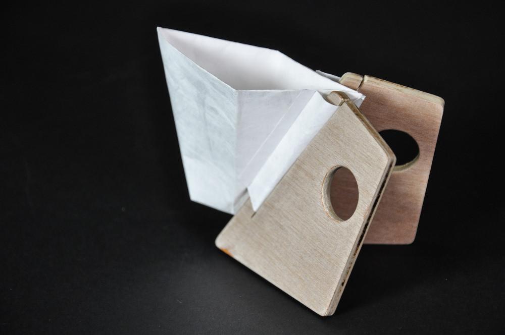 Packaging cup n 39 go tasse nomade en tyvek par paulin giret for Architecture nomade