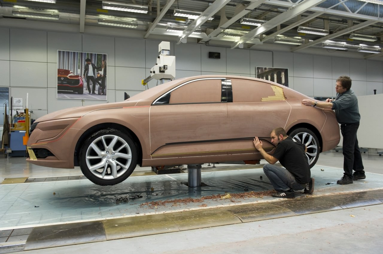 Conception - Renault Talisman - Maquettage - Team Design - L.Quere