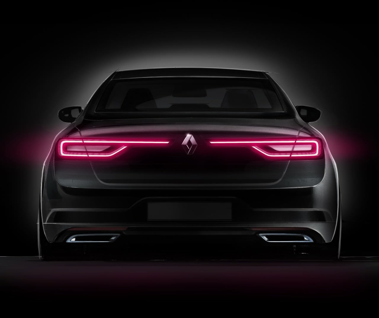 Conception - Renault Talisman - Signature visuelle - Feux à LED