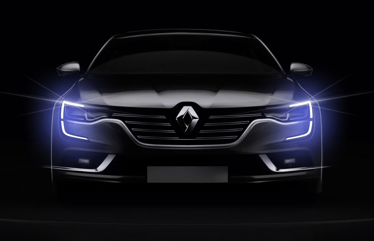 Conception - Renault Talisman - Signature visuelle - Phares à LED