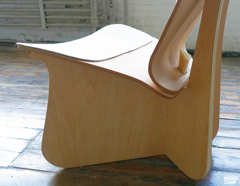 Wedge Chair par YaLun Lee
