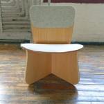 Wedge Chair par YaLun Lee