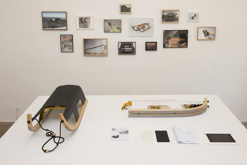 Folding Sled - Max Frommeld et Arno Mathies. Photo : Lothaire Hucki © villa Noailles, 2015