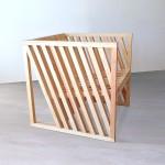 Anna Marta fauteuil cube par Per Jensen