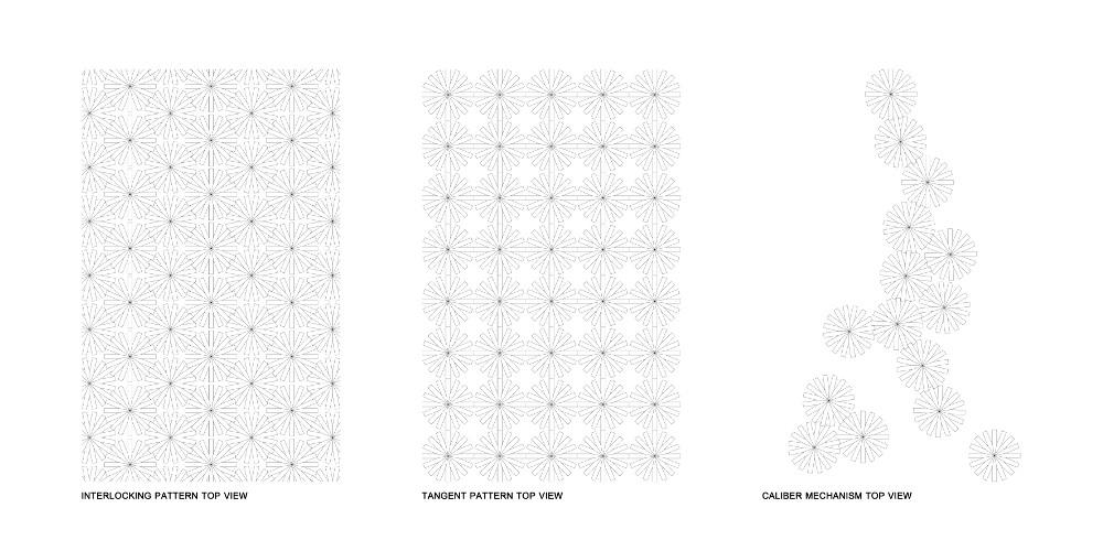 Calibre 32 tabouret engrenage par Richard Yasmine