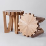 Calibre 32 tabouret engrenage par Richard Yasmine
