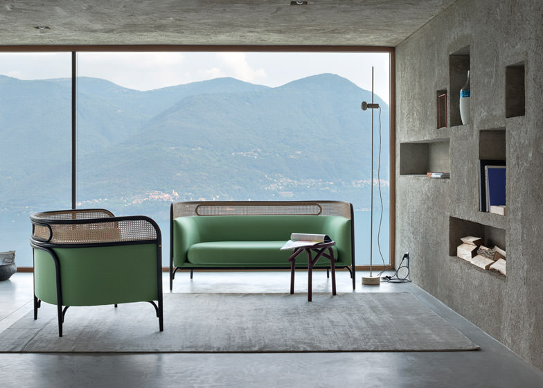 Collection Targa GamFratesi joue avec Thonet