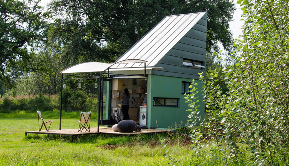 POD maison verte pour deux
