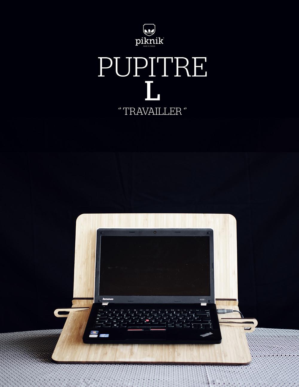 PUPITRE jouer travailler lire par Piknik