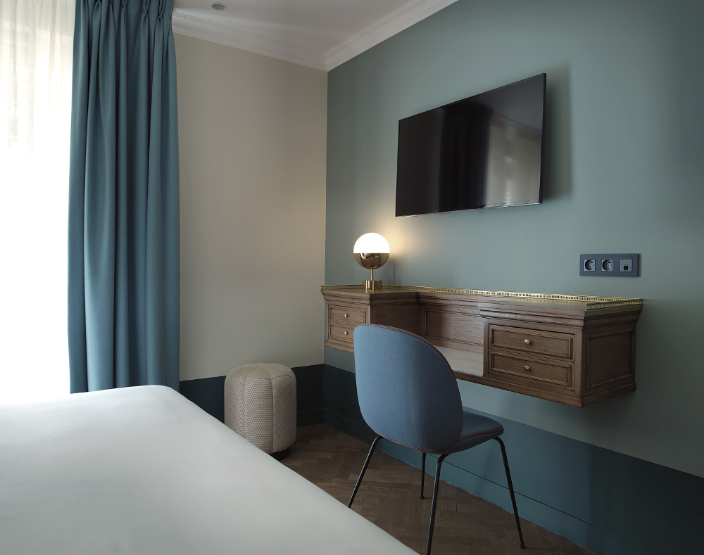 H tels paris h tel bachaumont blog esprit design for Decoration chambre hotel