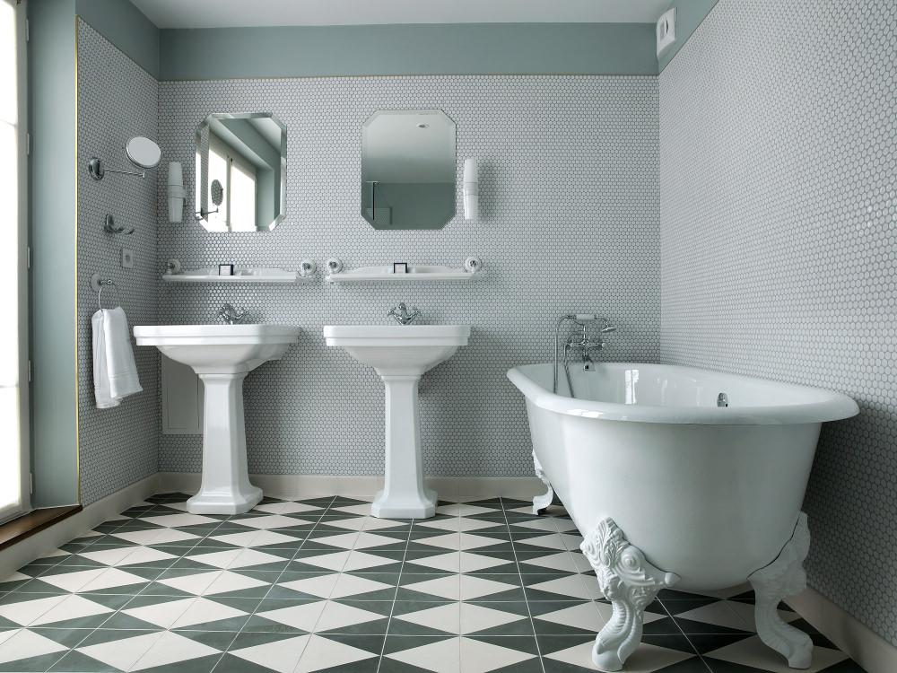 Salle de bain - Hôtel Bachaumont