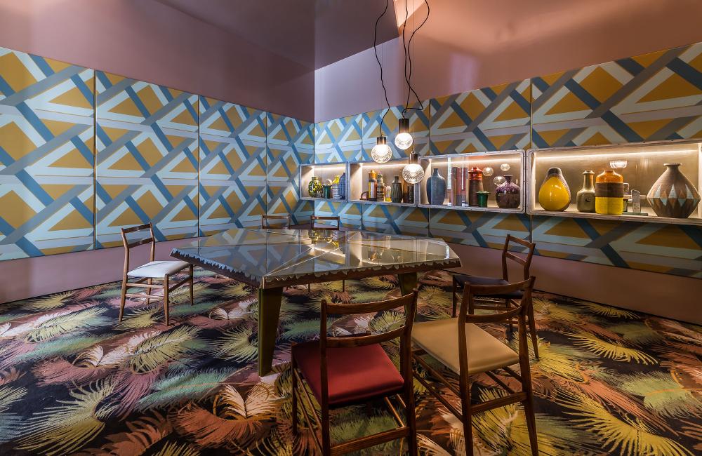 AD Intérieurs 2015 - La salle à manger Miroir du temps de Dimorestudio