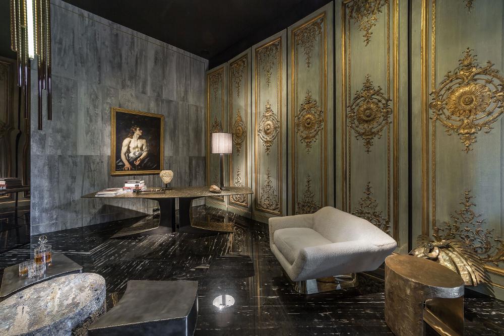 Salon Decoration Italie : Ad intérieurs le cabinet d esthète de thierry lemaire