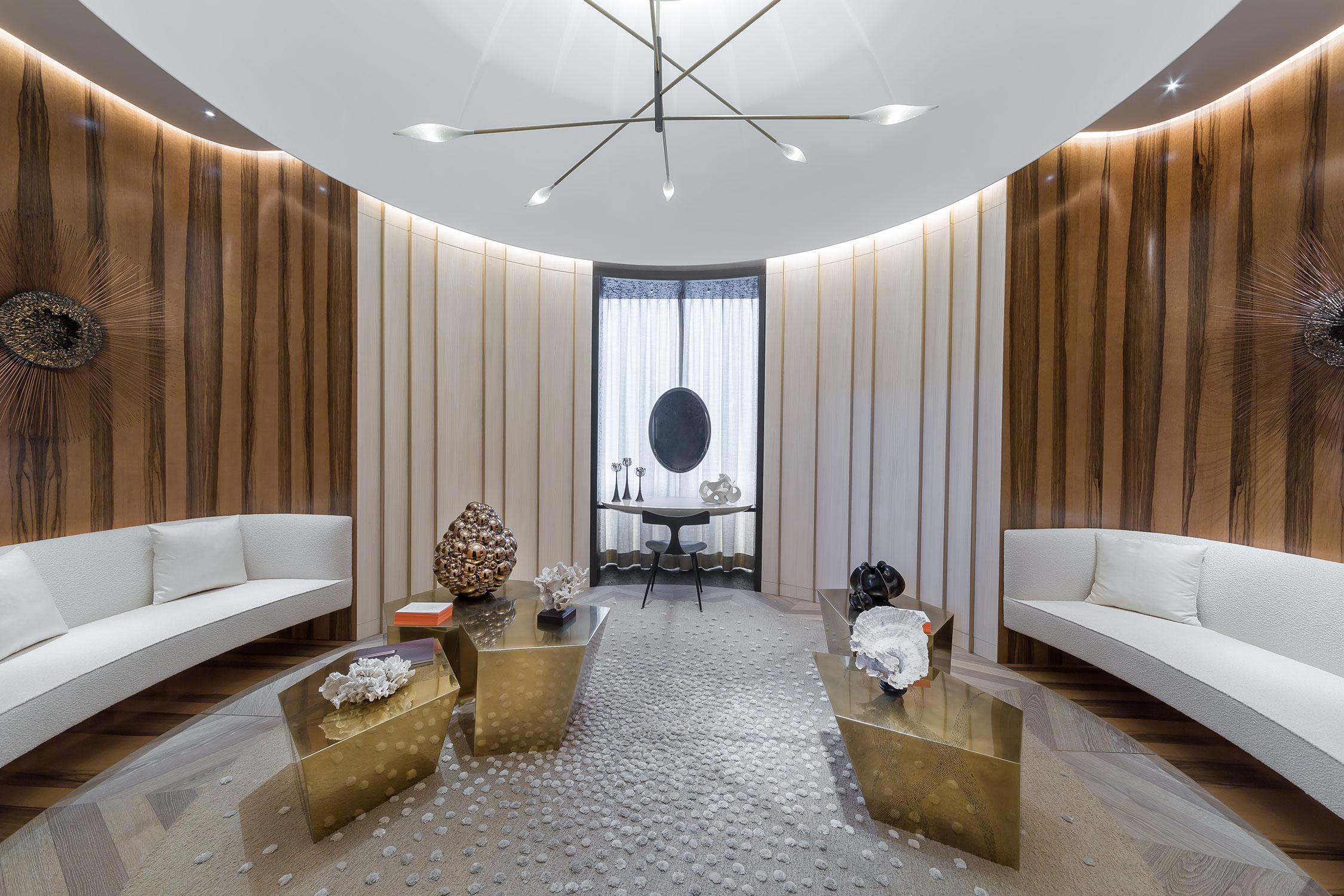 AD Intérieurs 2015 - Le dressing-boudoir de Damien Langlois-Meurinne