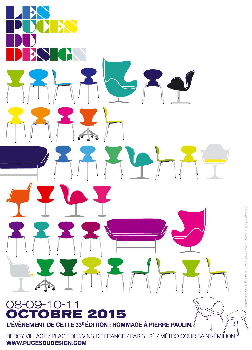 AGENDA : Puces du Design 2015 en approche