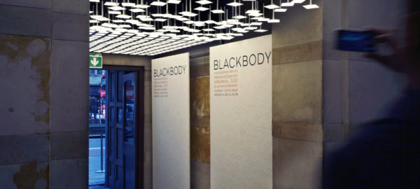 BLACKBODY DISPERSION par Thierry GAUGAIN et LG Chem