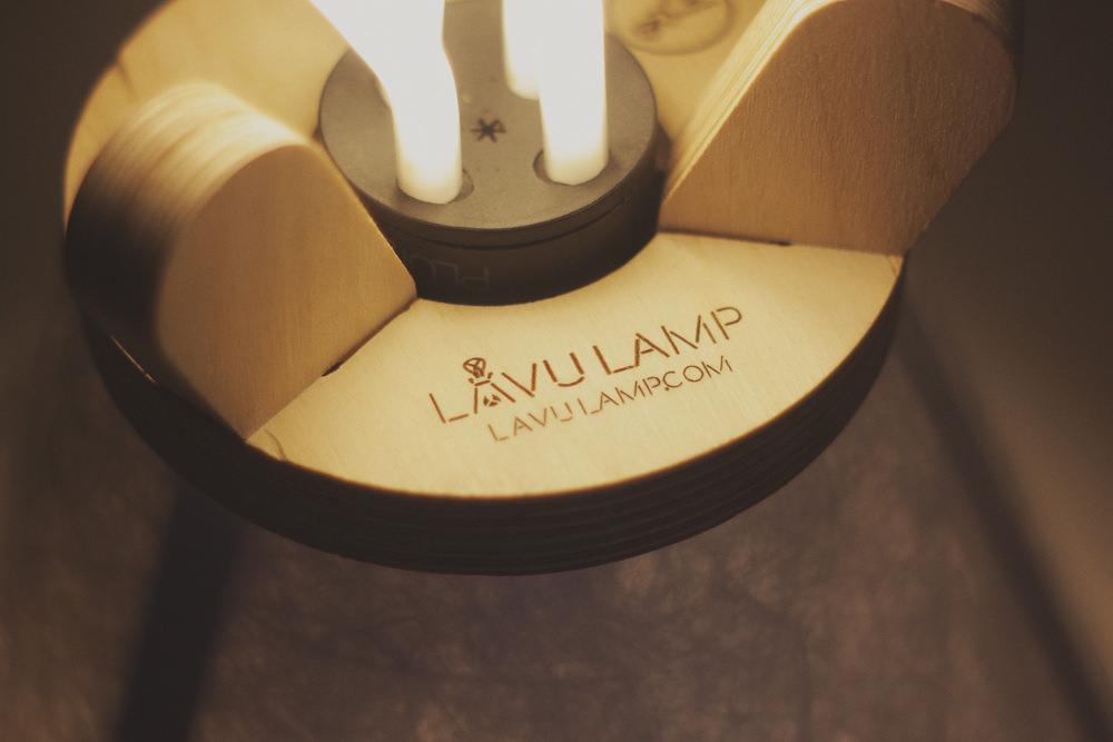 Crowdfunding : Lavu Lamp luminaire tipi par Tom Davies