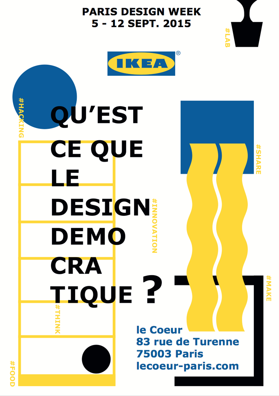 Democratic design by Ikea paris design week