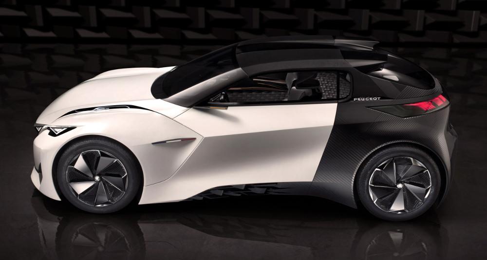 Fractal Nouveau Concept Car Peugeot Blog Esprit Design