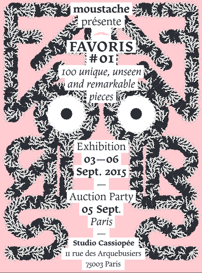 Favoris #01 par Moustache paris design week