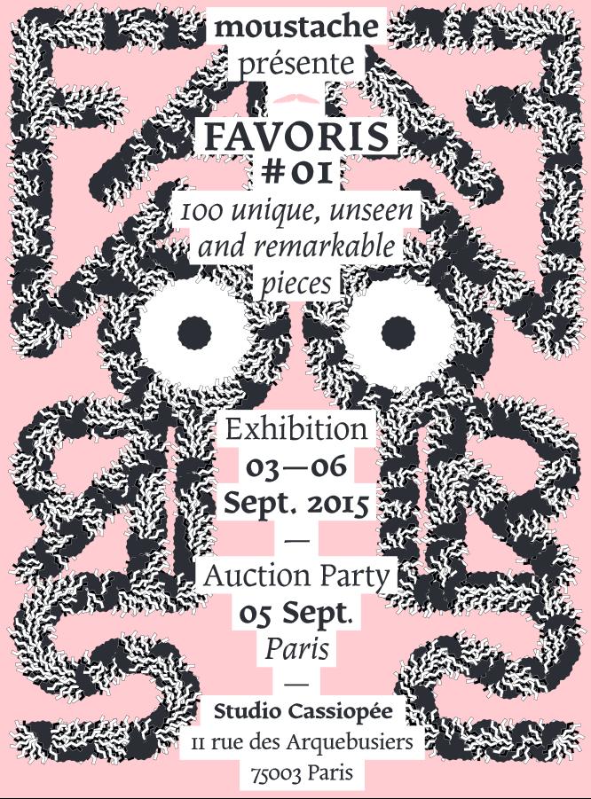 Favoris #01 par Moustache paris design week
