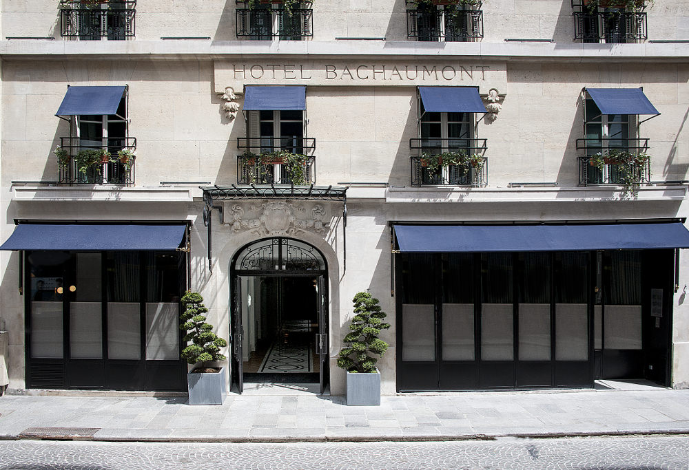 H tels paris h tel bachaumont blog esprit design for Hotel design paris 6