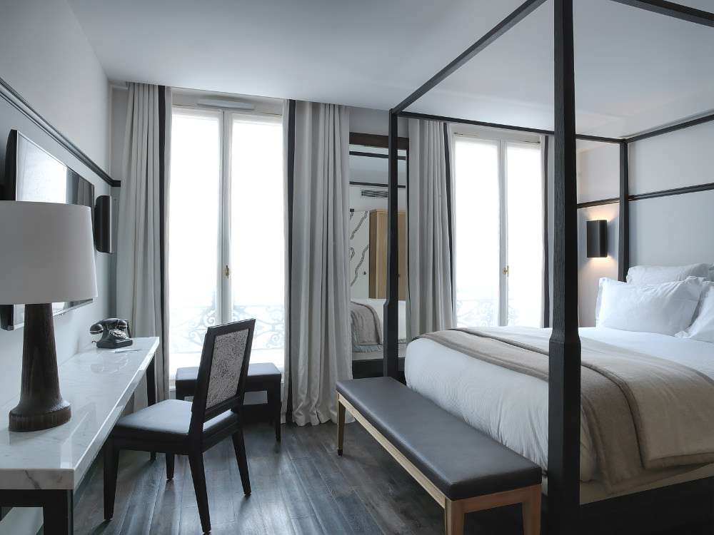 H tels paris the chess hotel blog esprit design for Hotel design paris 6