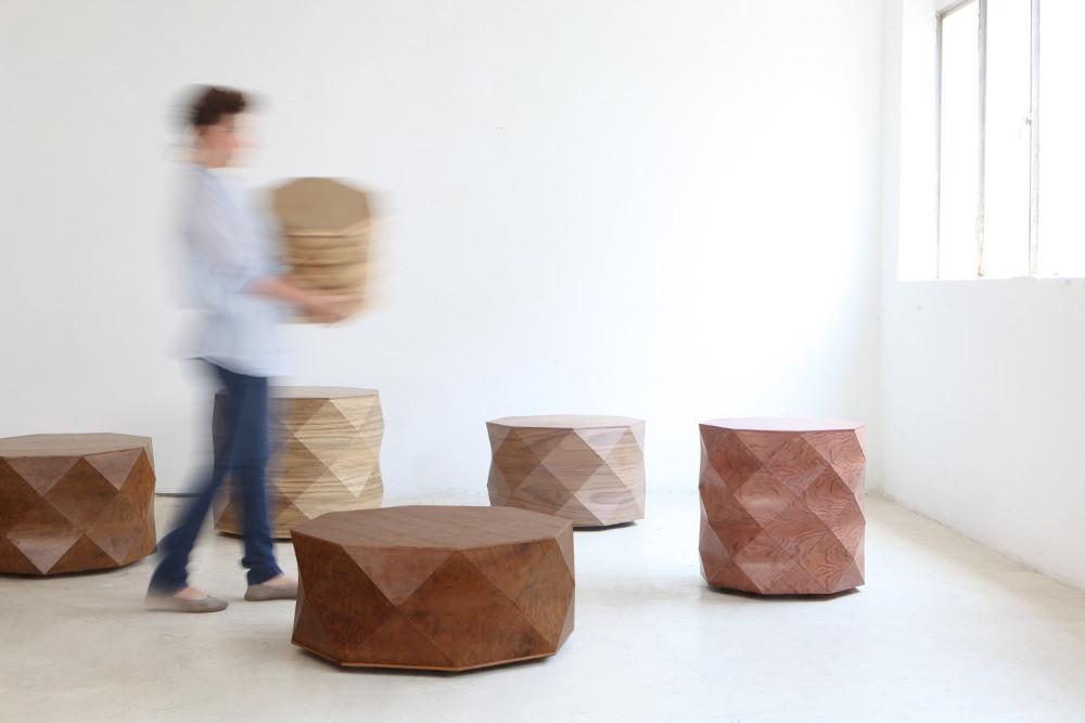 Interview : Orli Tesler et Itamar Mendelovitch designers textile de bois