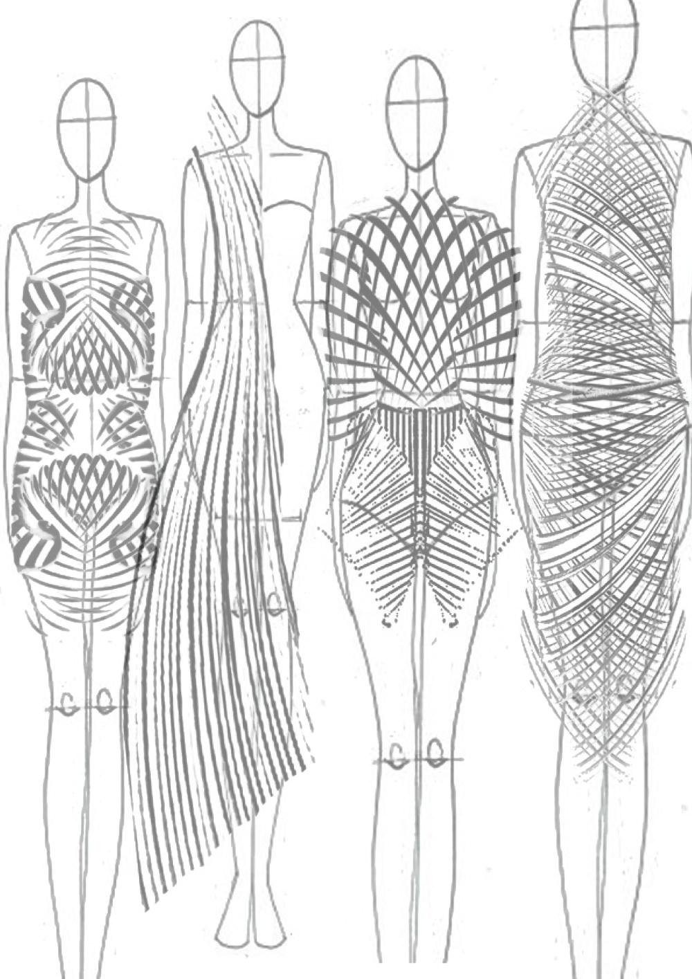 Croquis - Collection Unapologetic Body par Rochaele Siobhan