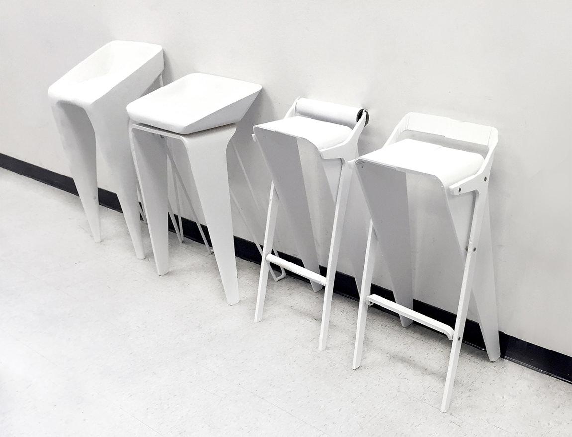Prototypes - KURVA tabouret de bar par Jordan Steranka