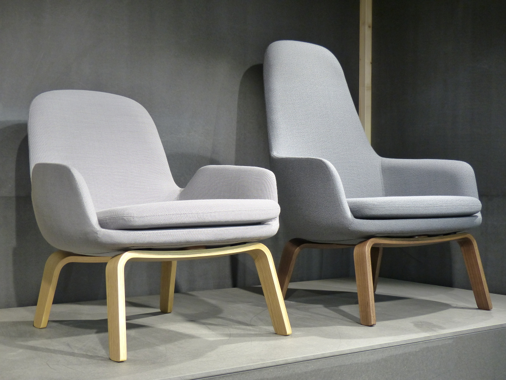 M&O 2015 _ ERA Lounge chair par Norman Copenhagen.