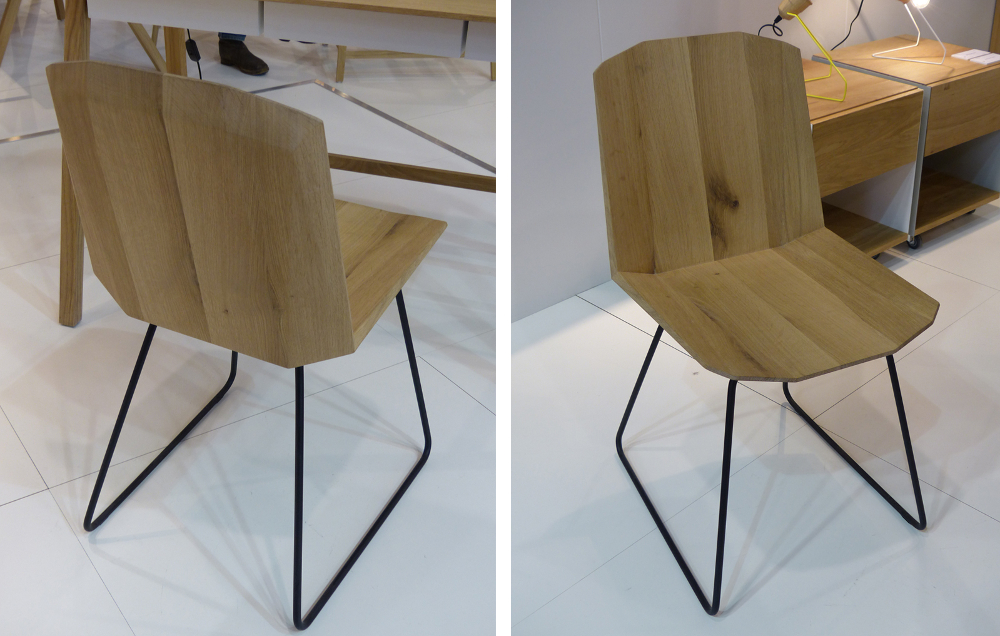 M&O 2015 _ FACETTE chair par UNIVERSO POSITIVO.