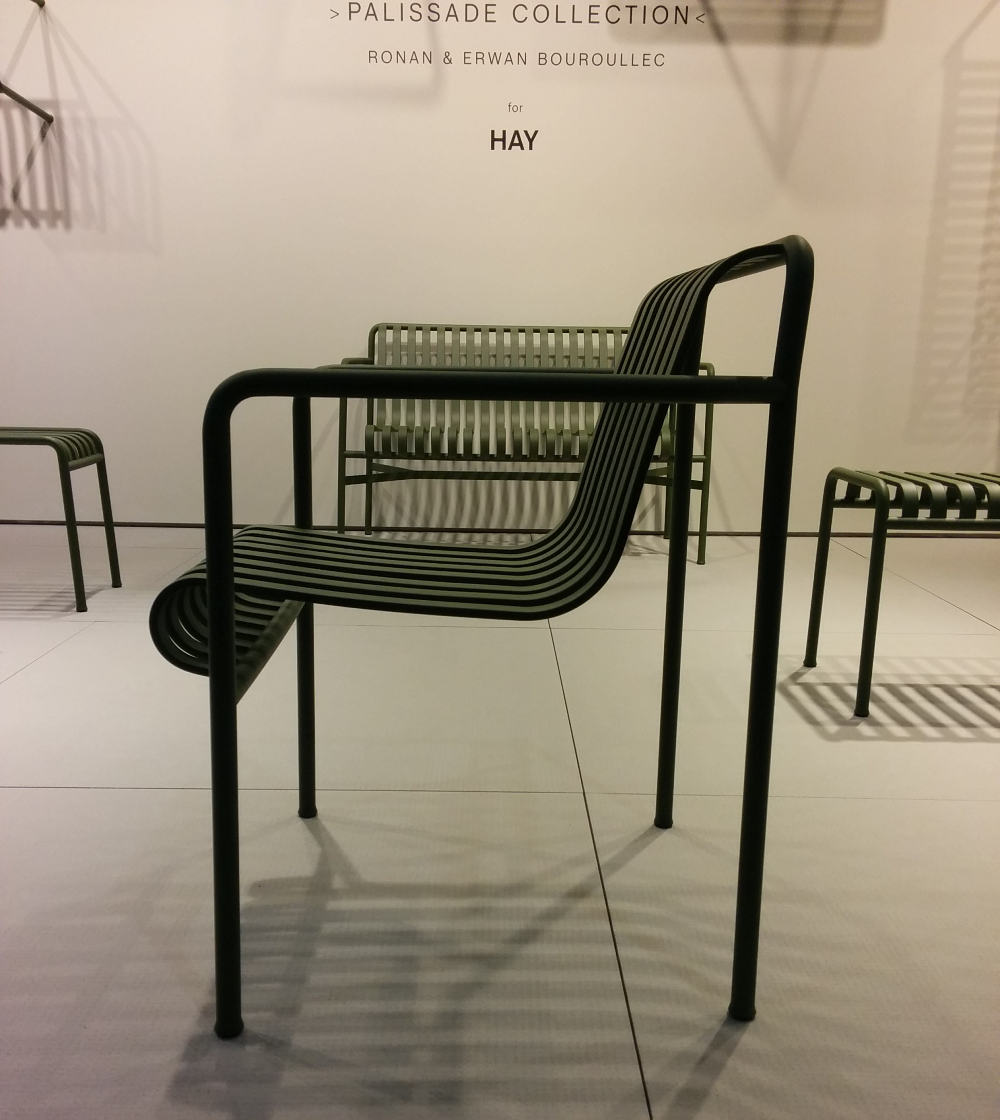 M&O 2015 _ PALISSADE outdoor furniture for HAY by the BOUROULLEC Brother. Fauteuil-1