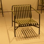 PALISSADE outdoor furniture for HAY by the BOUROULLEC Brother. Fauteuil